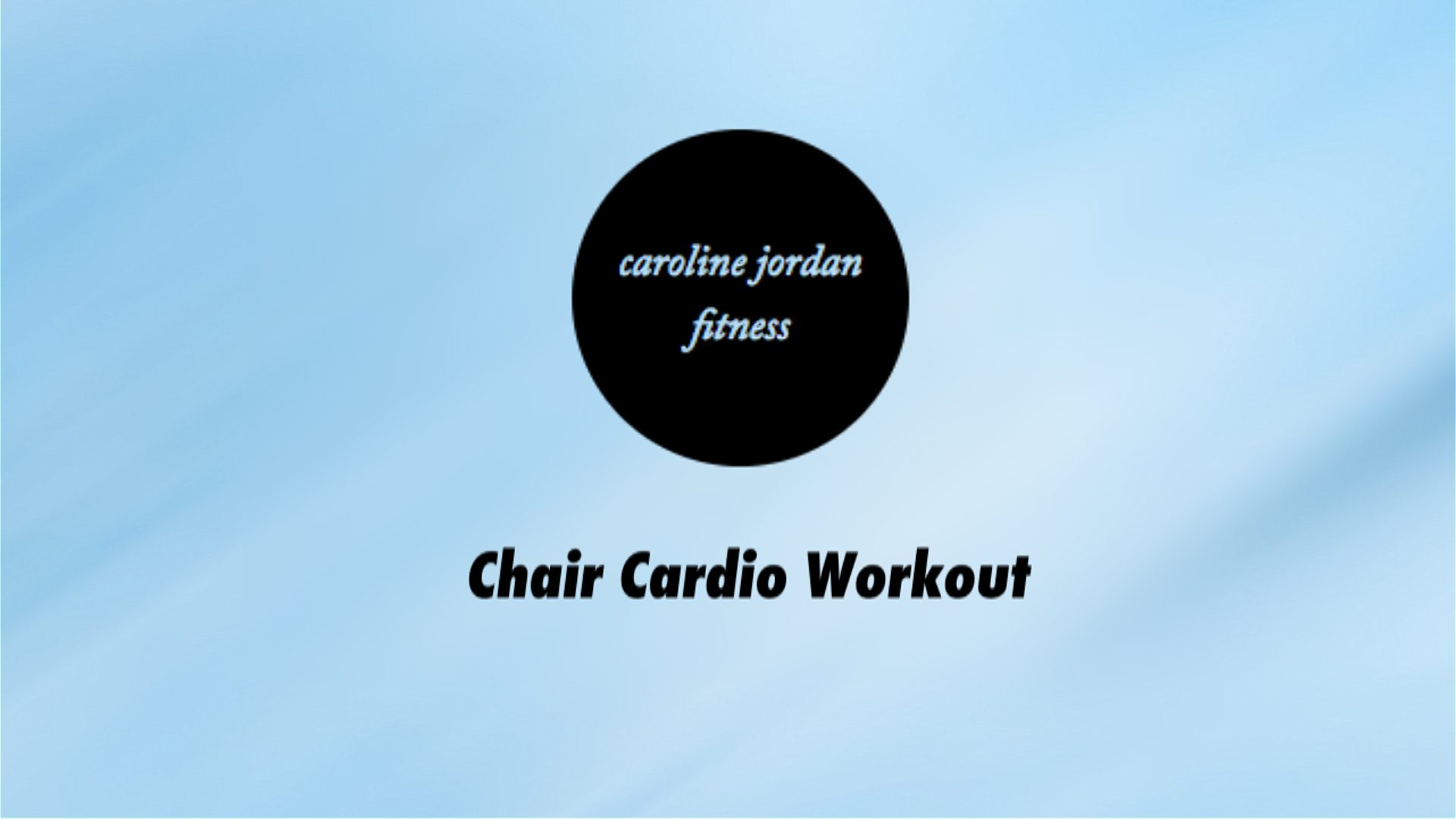 best chair cardio