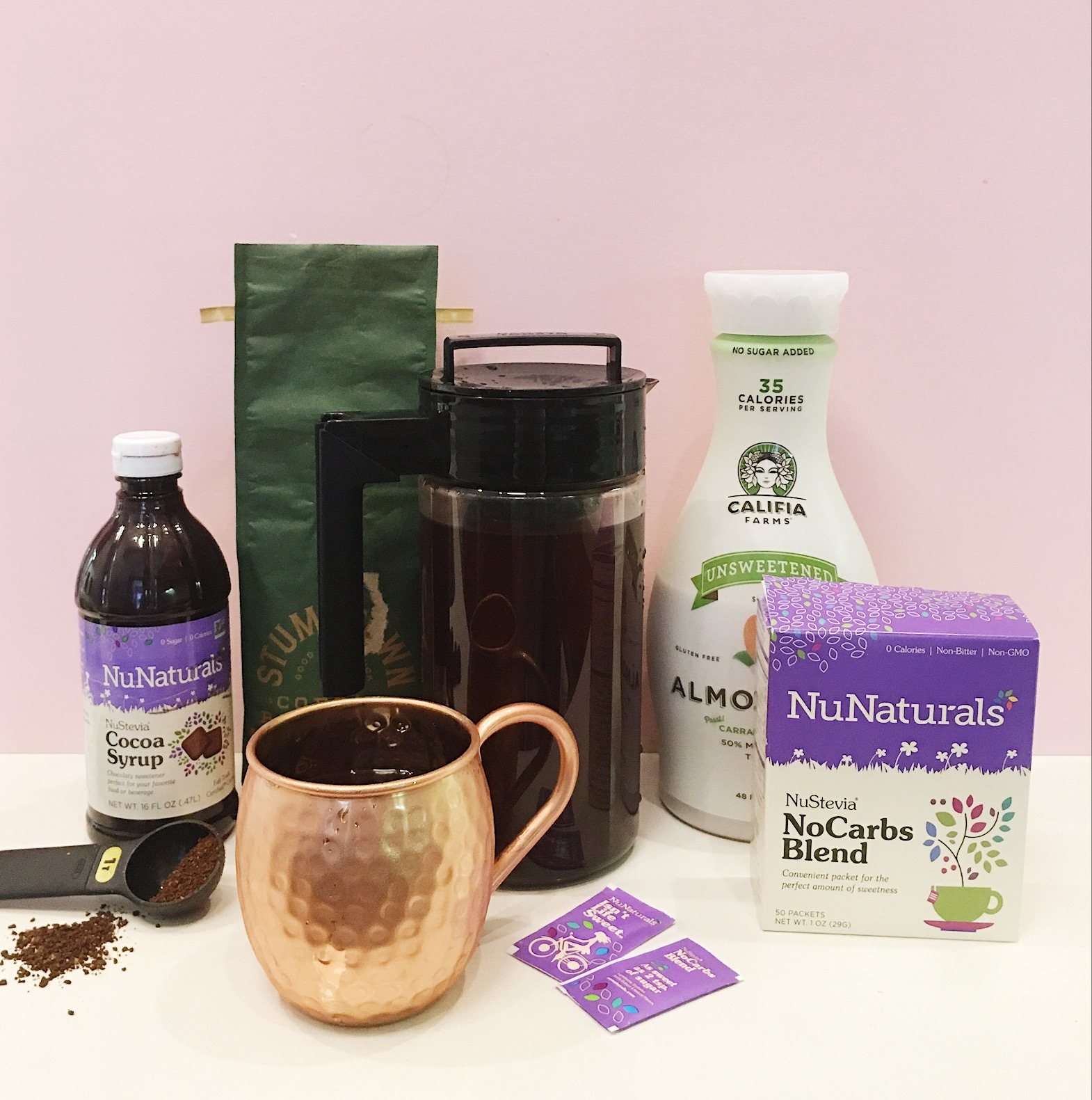 NuNaturals Cold Brew Coffee