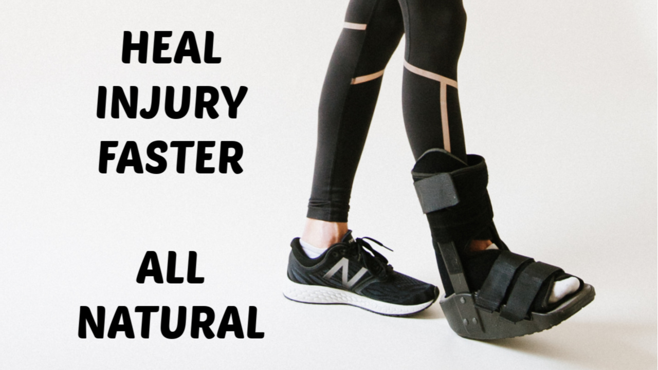 heal injuries faster