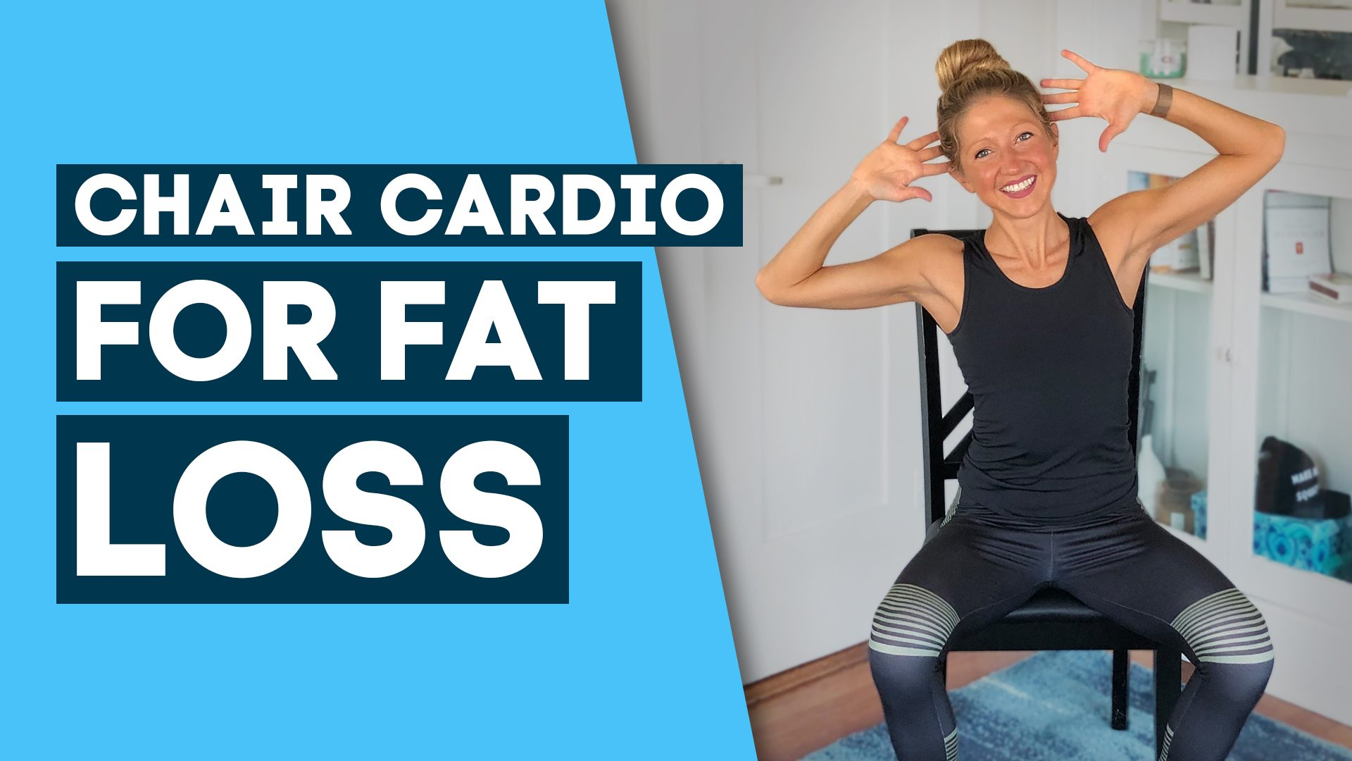 chair cardio for fat loss