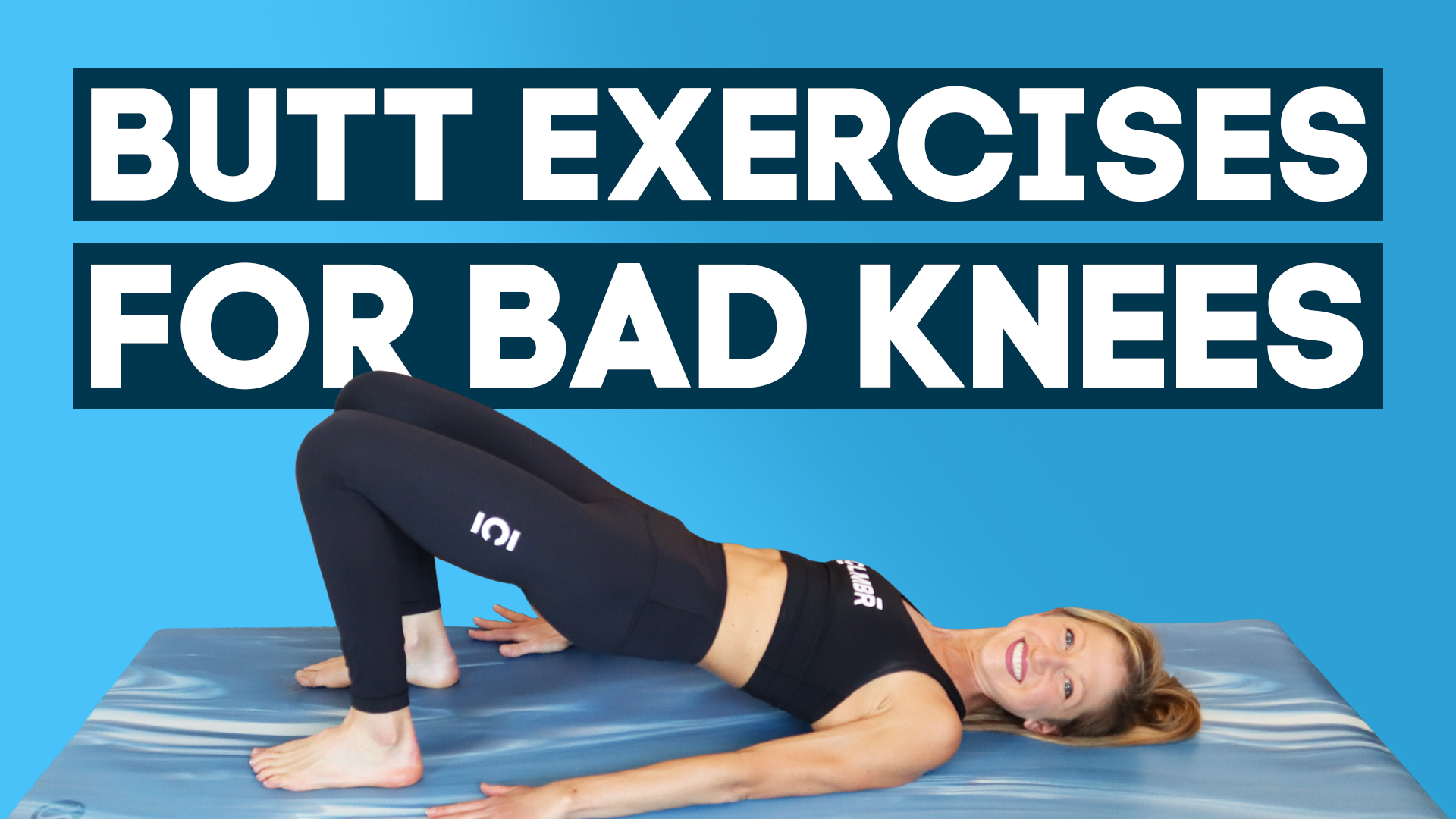 butt exercises bad knees