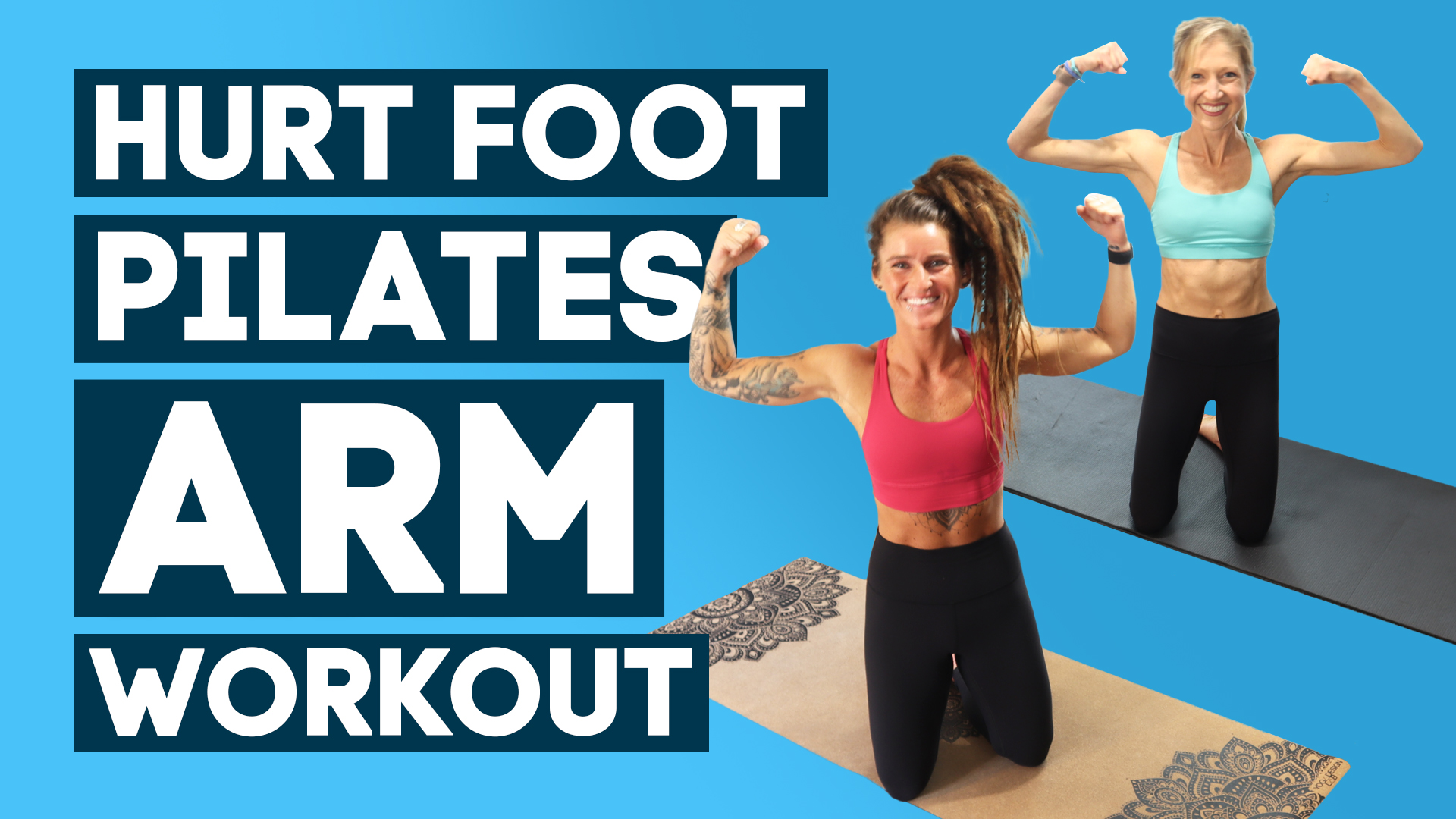 hurt foot pilates arms workout