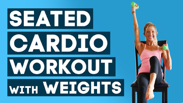 chair cardio and weights