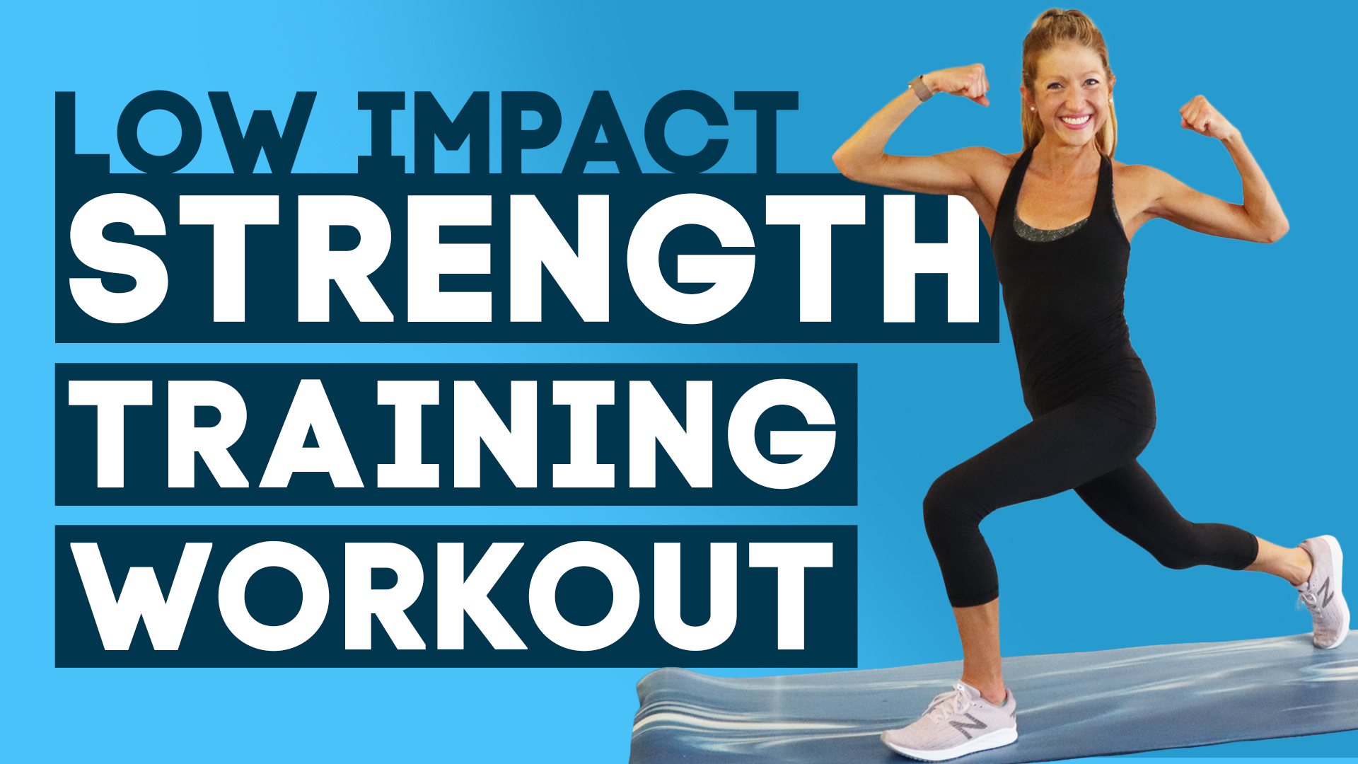 low impact strength training workout
