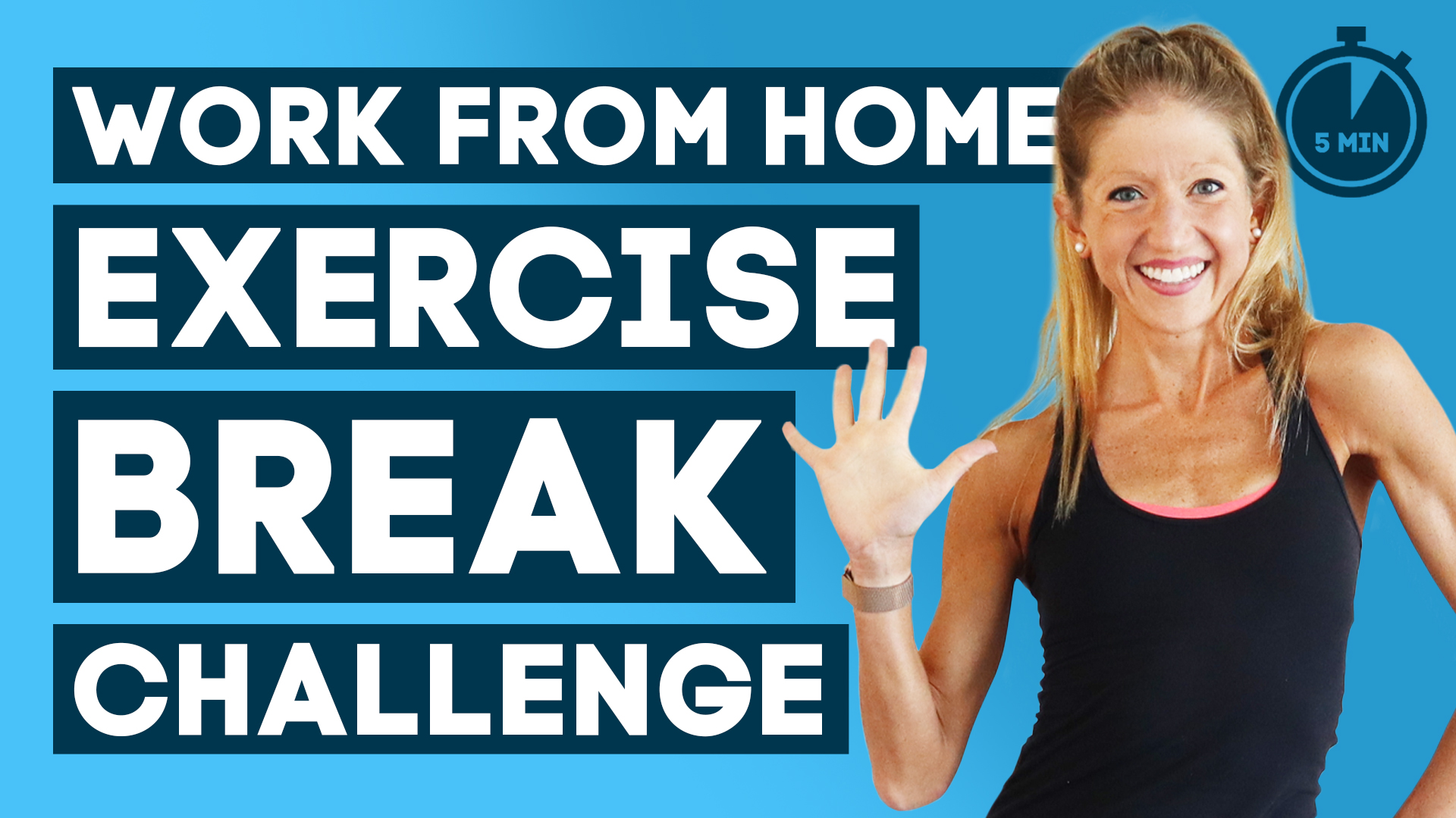 working from home exercise break challenge