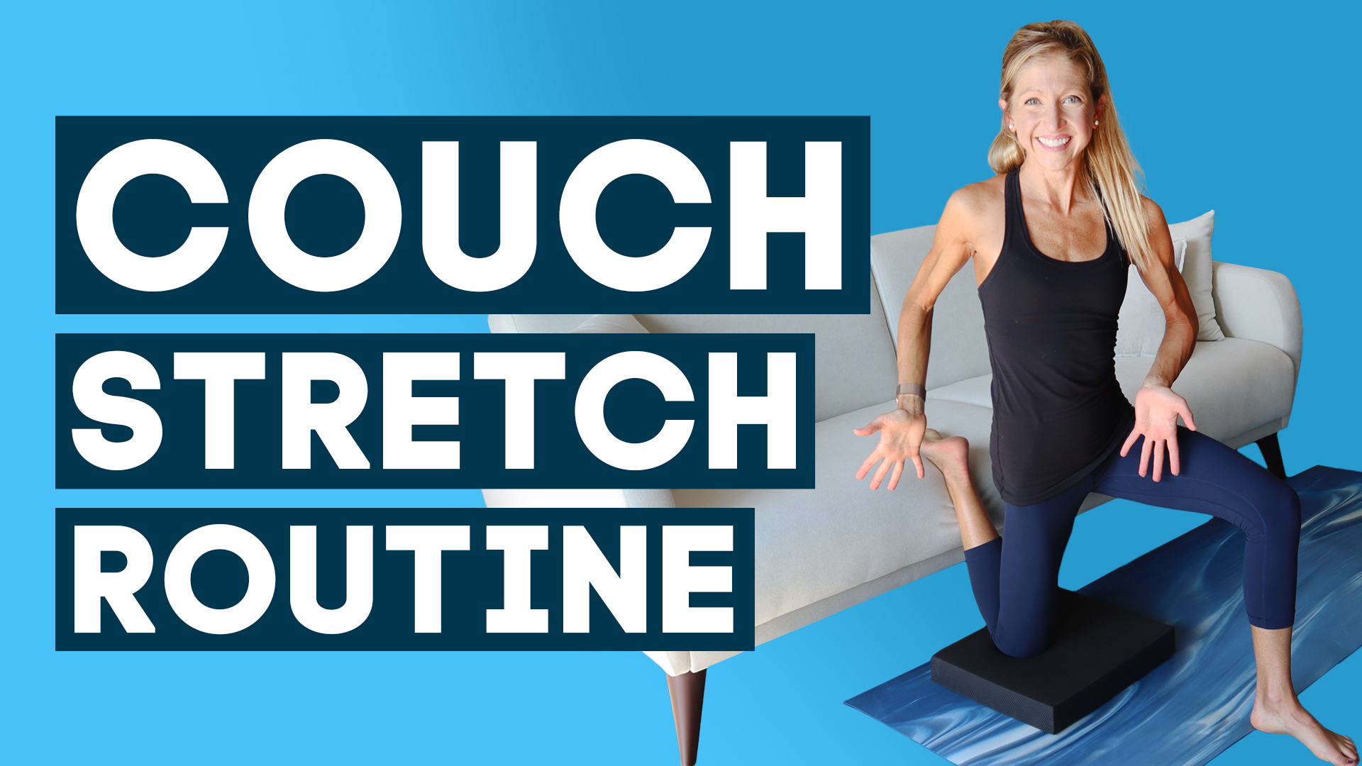 couch stretch routine
