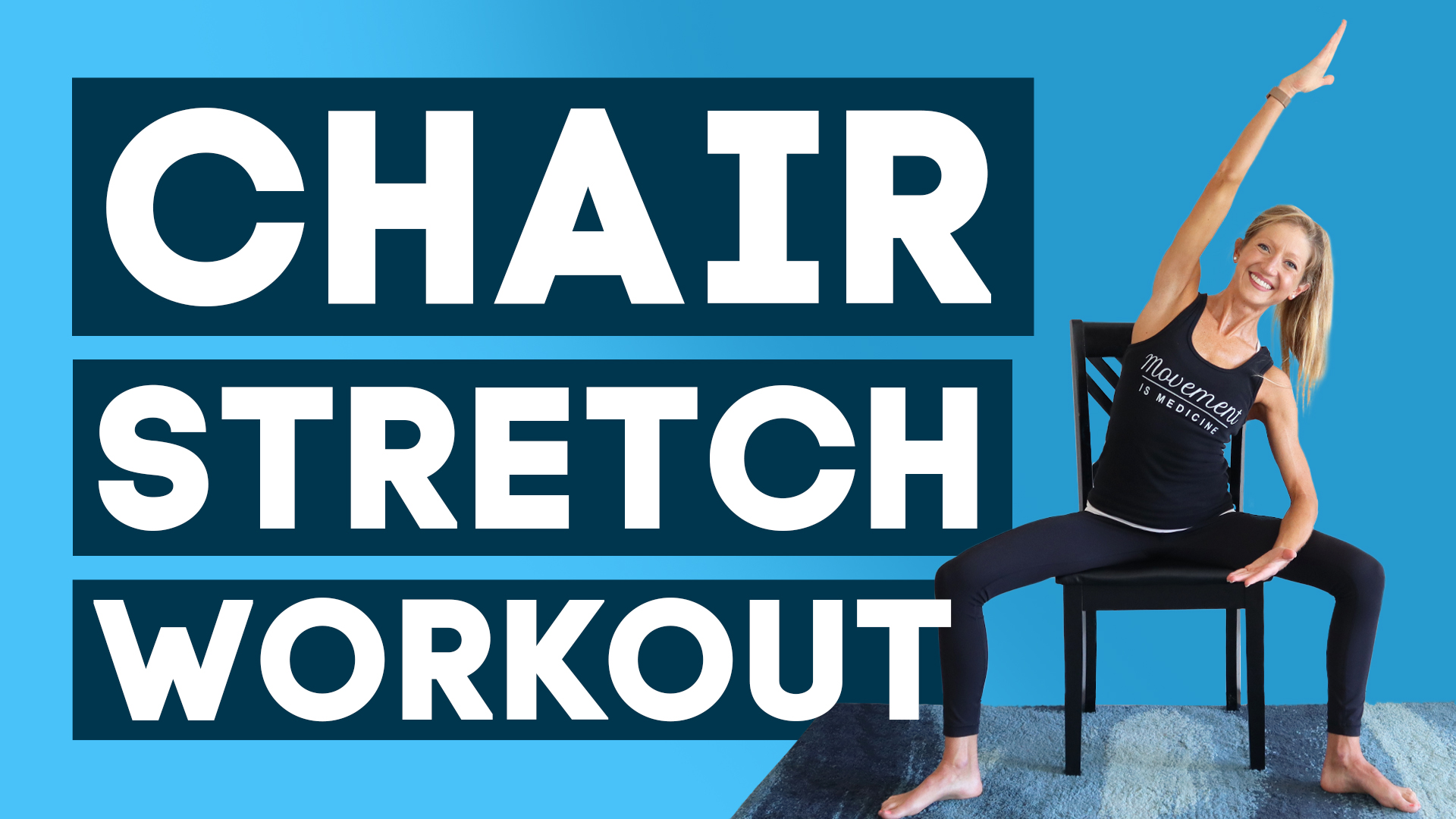 chair stretch workout