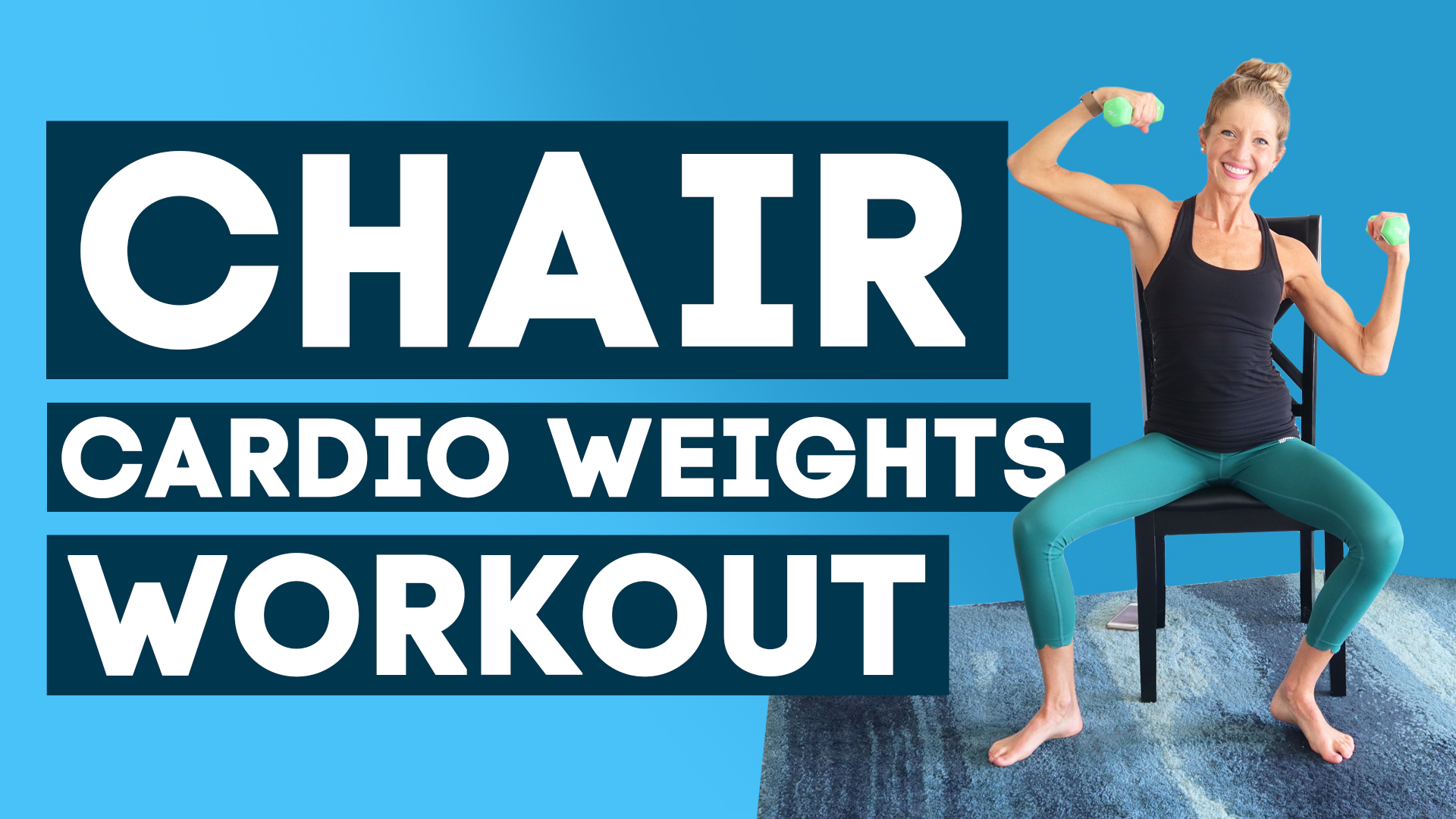 chair cardio weights workout