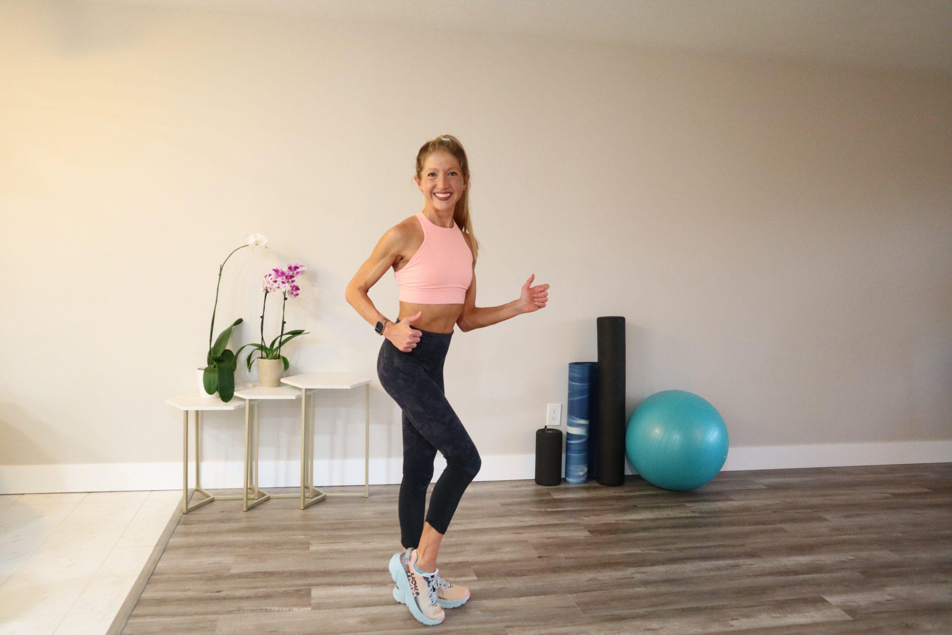 indoor walking workout