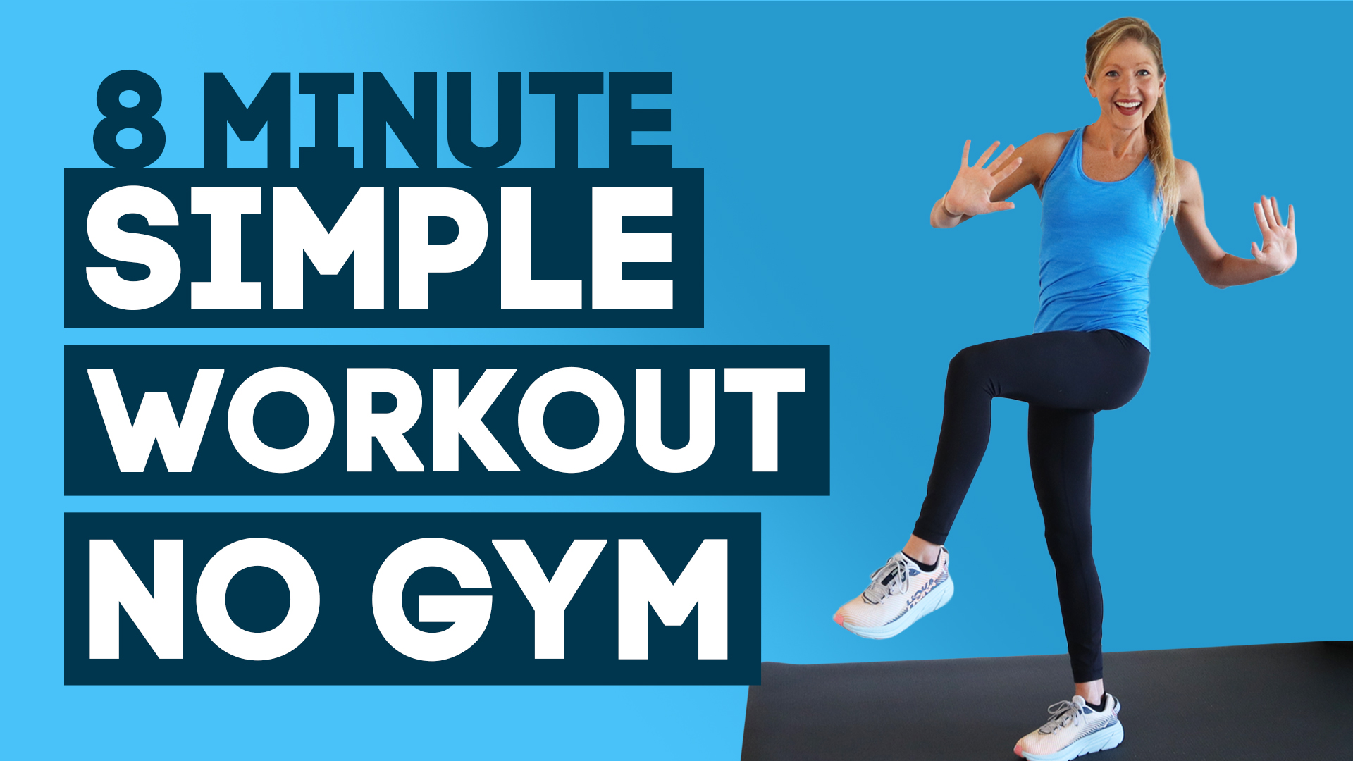 8 Min Simple Workout To Lose Weight Without The Gym (DO THIS EVERY DAY!