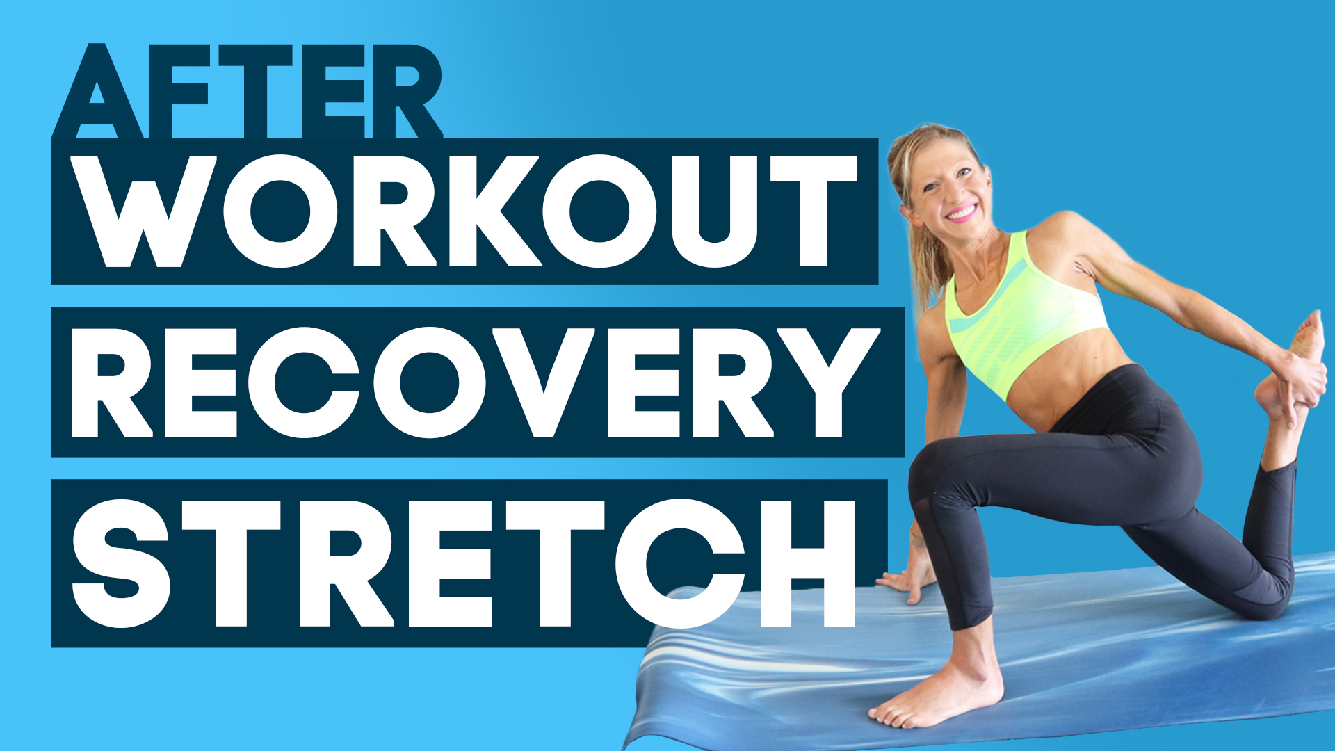 after workout recovery stretch