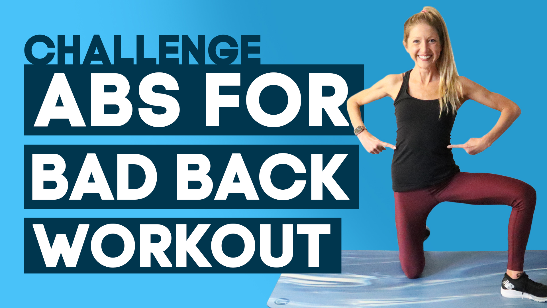 abs for bad back