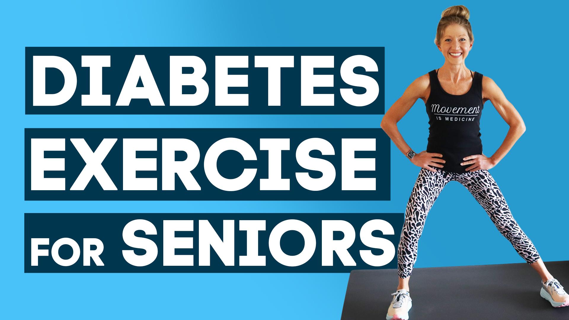 diabetes exercise for seniors